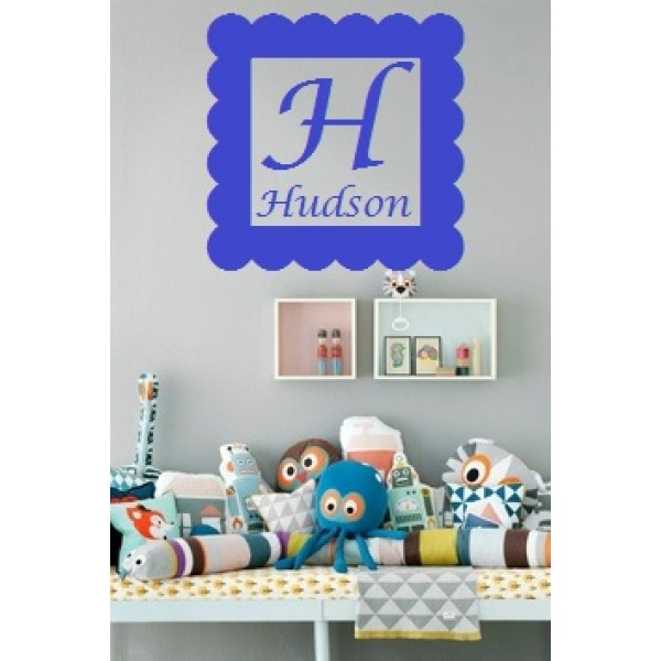 Personalized Name Wall Decal VINYL (HUDSON SAMPLE) [0000000013] | data_0b65cb960572150647fdb3362f363cd3.jpg