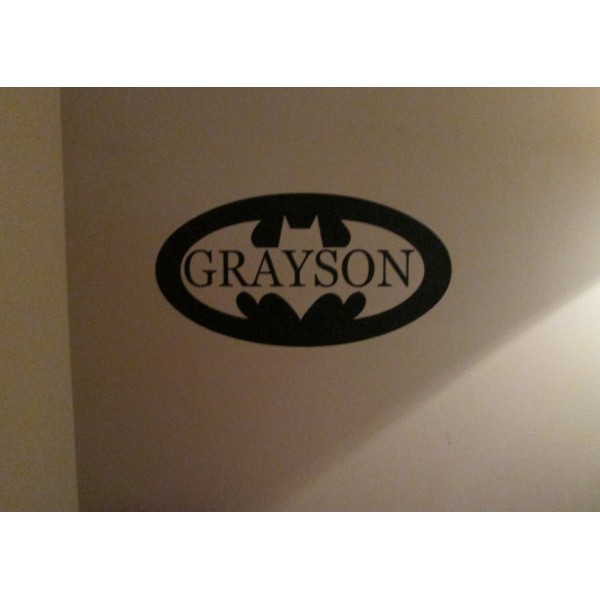 Batman with name cut out 22x10 inches vinyl decal stickers [000000005] | data_10-29-2013 10-09-16 AM.jpg
