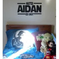 Personalized Star Wars Jedi Knight Name 22x12