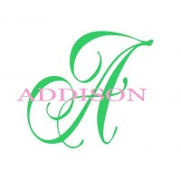 Personalized Nursery Wall Decor / Addison BCL1 [Baby Product]