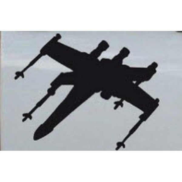 Star Wars X-Wing Fighter Silhouettes 11x8 inches (one right and one left facing) [0000000070] | data_11-16-2013 7-23-22 PM.jpg