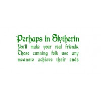 Slytherin vinyl decal