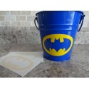 Batman 3x2 inches symbol Pack of 6 vinyl decal stickers [000000004]