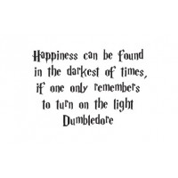 Happiness can be found quote vinyl decal