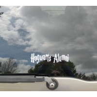 Hogwarts Alumni car vinyl decal