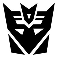 Transformers Decepticon Vinyl Sticker