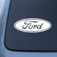 Ford Emblem x2 (2.5in x 5.75in)