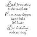 Look for something positive wall vinyl decal