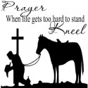Prayer When life gets too hard....Religious Wall Quotes Wall sayings bible verse