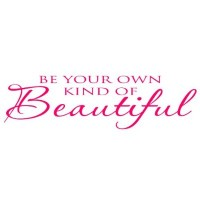 Be Your Own Kind of Beautiful quote wall saying Marilyn Monro...