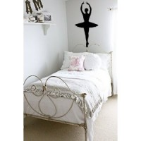 4ft Ballerina vinyl wall decal stickers