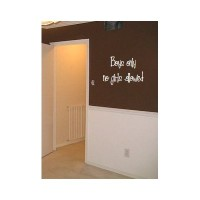 Boys only no girls allowed wall saying vinyl decal nursery
