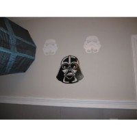 Darth Vader & Storm trooper vinyl decal stickers