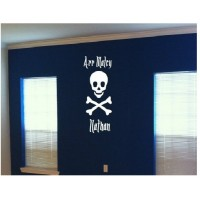 Jolly Roger Arr Matey personalized with name