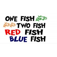One fish two fish 18X16