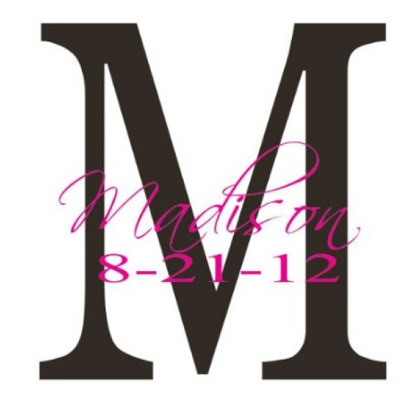 Monogram with name and birthdate [0216IGF7J3Q] | data_Monograms_411I9EnDy2L._SY450_.jpg
