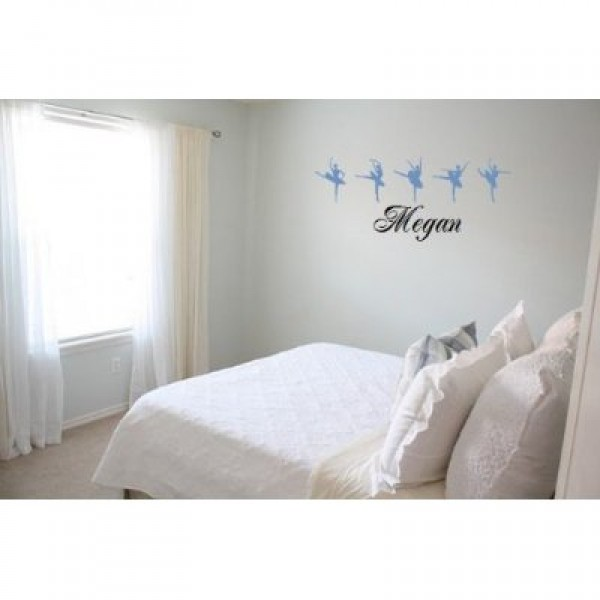Personalized name with Ballet dancers vinyl wall decal [0716M6T0LYE] | data_Personalized_413F2hx7IpL._SS400_.jpg