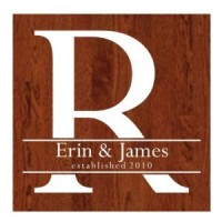 Wedding Dance floor decals- block with names across decal