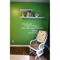 Sometimes the smallest things Winnie the Pooh quote 30x12  wall saying