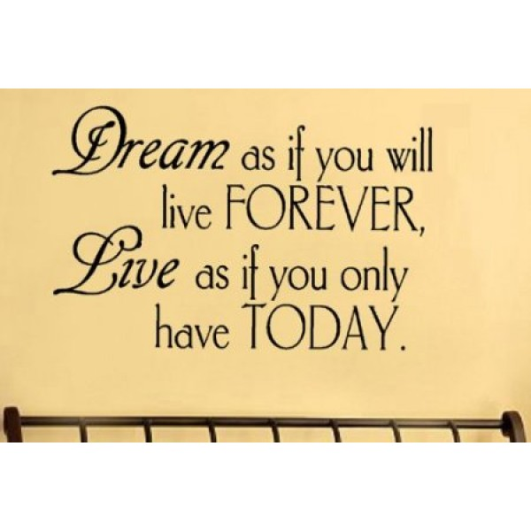 New - Dreams Vinyl Lettering Wall Sayings | bunda-daffa.com
