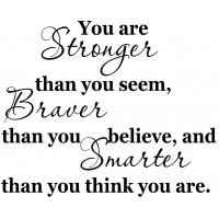 Christopher Robin Quote You are braver than