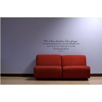 Jeremiah 29:11 For I know the plans I have for you(32x10) Bible verse wall ...