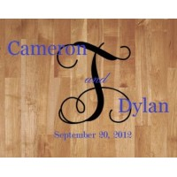 Wedding Floor Decal - Vine