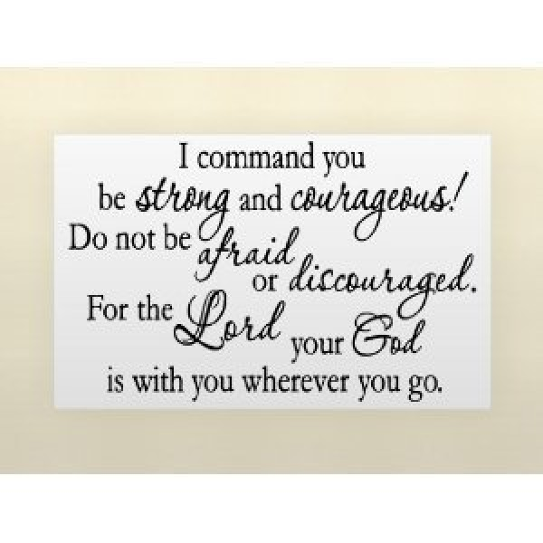 I COMMAND YOU BE STRONG AND COURAGEOUS Vinyl wall lettering stickers quotes a... [0906IB2C01Qa] | data_custom_41ll93DwggL.jpg