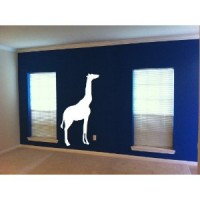 4ft Giraffe vinyl decal- Safari animals
