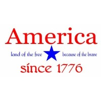 America land of the free because of the brave since 1776 wall saying vinyl decal