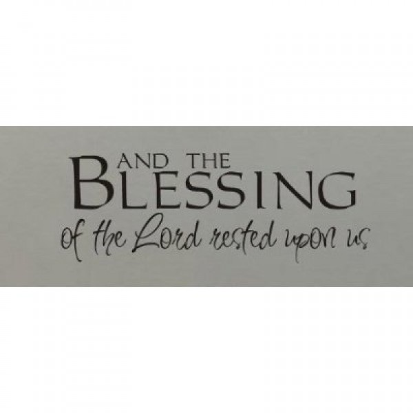 And the blessing of the Lord rest upon us [0618ILF75I8] | data_k_And the blessing of the Lord rest upon us.jpg