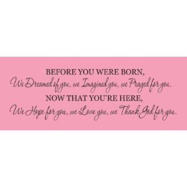 Before you were born 30x15 vinyl decal quote wall saying [0506ITJVI12] | data_k_Before you were born.jpg