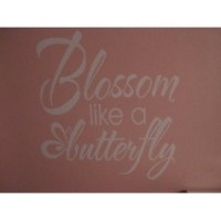 Blossom like a Butterfly 11x11