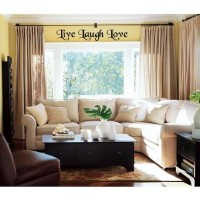 Live Laugh Love 32x 8 vinyl decal wall saying